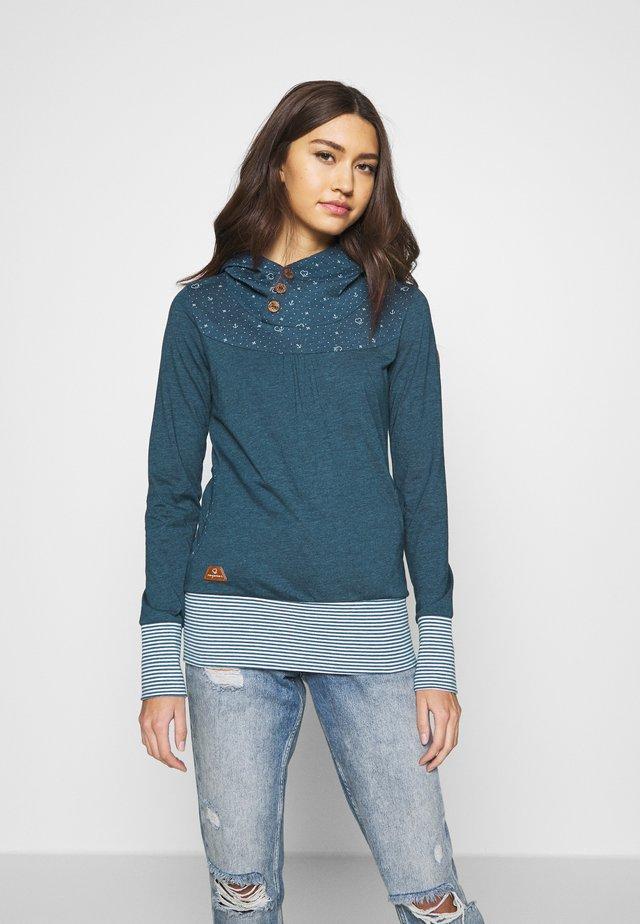 LUCIE - Long sleeved top - denim blue