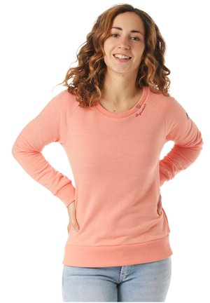 RAGWEAR SWEATSHIRT JOHANKA - Sweater - orange
