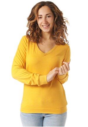 RAGWEAR SWEATSHIRT NELIN ORGANIC - Sweatshirt - yellow