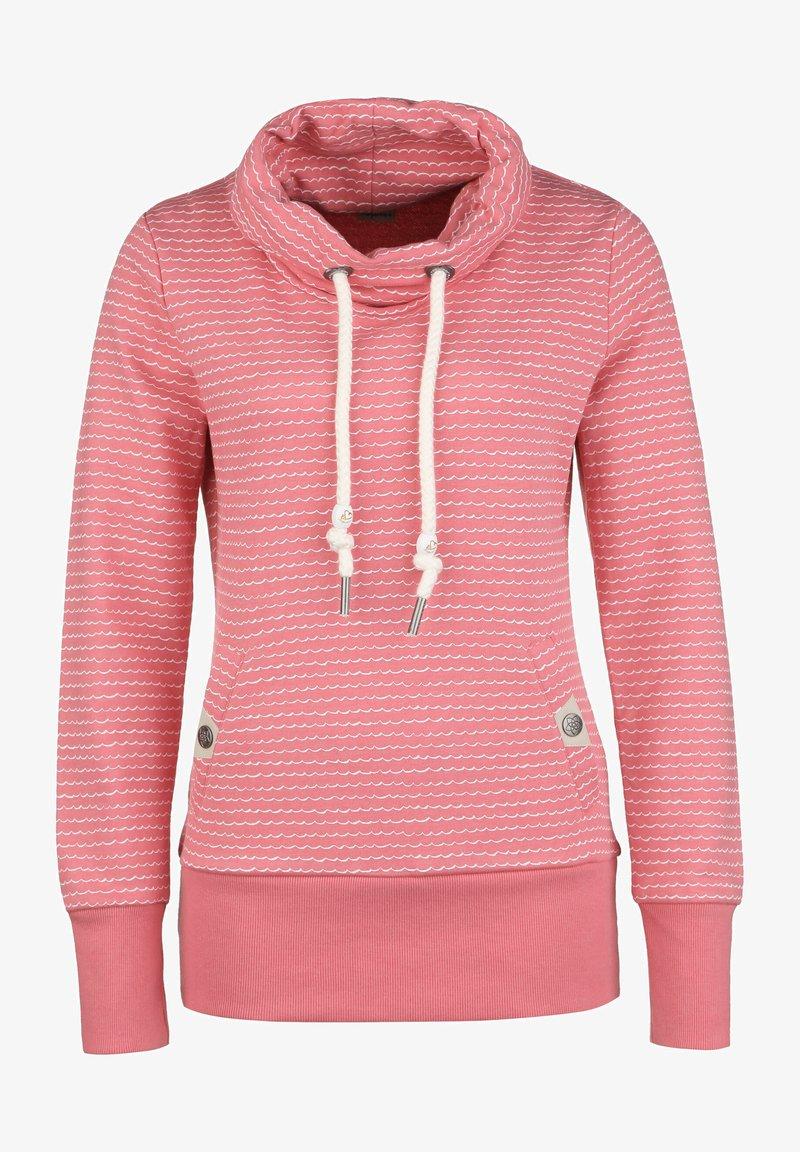 Ragwear - HOODIE RYLIE W - Sweater - rose