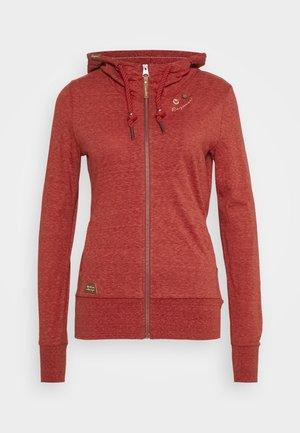 PAYA - Zip-up hoodie - red