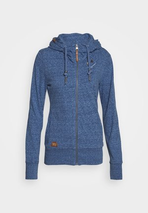 PAYA - veste en sweat zippée - blue