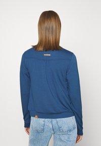 Ragwear - KENIA - Zip-up hoodie - denim blue - 2