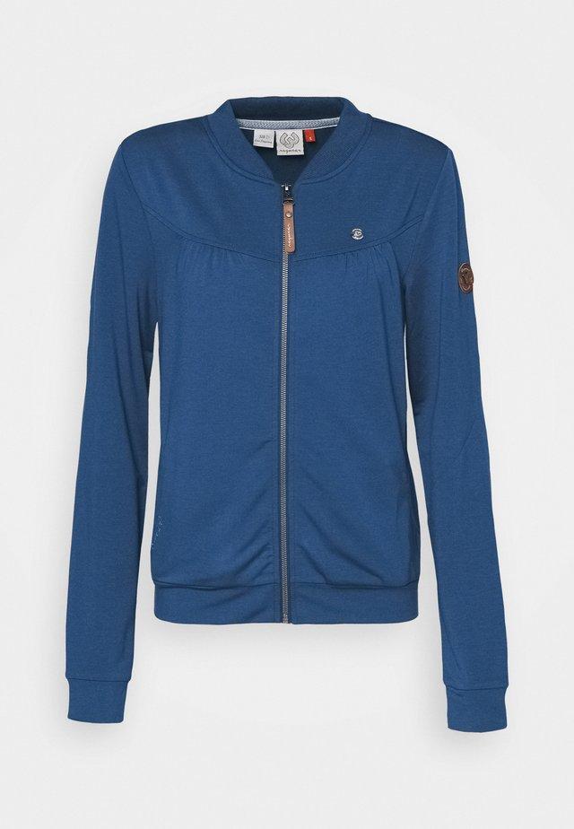 KENIA - Zip-up hoodie - denim blue