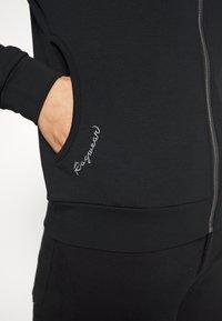 Ragwear - KENIA - Zip-up hoodie - black - 6