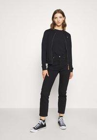 Ragwear - KENIA - Zip-up hoodie - black - 1