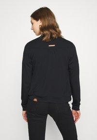 Ragwear - KENIA - Zip-up hoodie - black - 2