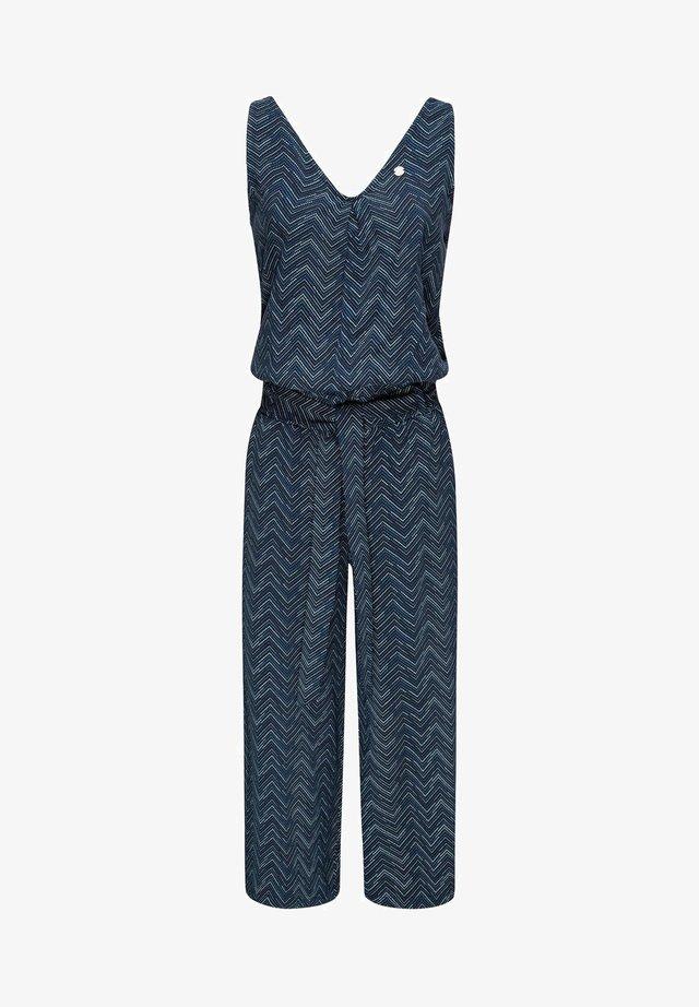 SUKY ZIG ZAG - Jumpsuit - blue