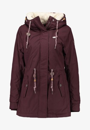 MONADIS - Winter coat - dark choco