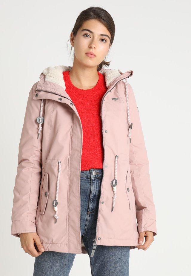 MONADIS - Zimní kabát - old pink