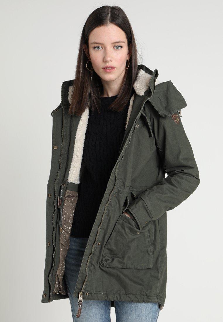 Ragwear - CLANCY - Wintermantel - green