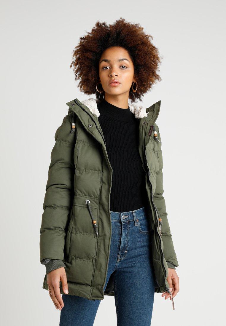 Ragwear - ASHANI PUFFY - Zimní kabát - olive