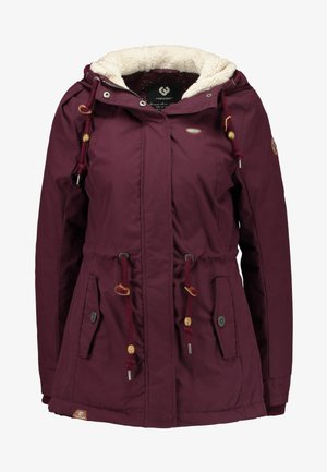MONADIS - Parka - wine red