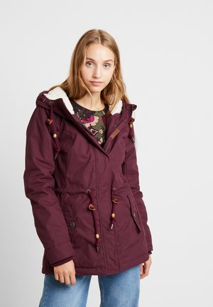 MONADIS - Parkas - wine red