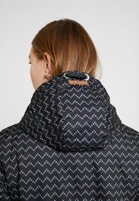 Ragwear - ZUZKA ZIG ZAG - Classic coat - black - 6