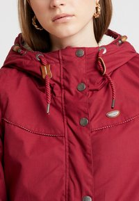 Ragwear - CANNY - Winter coat - wine red - 4