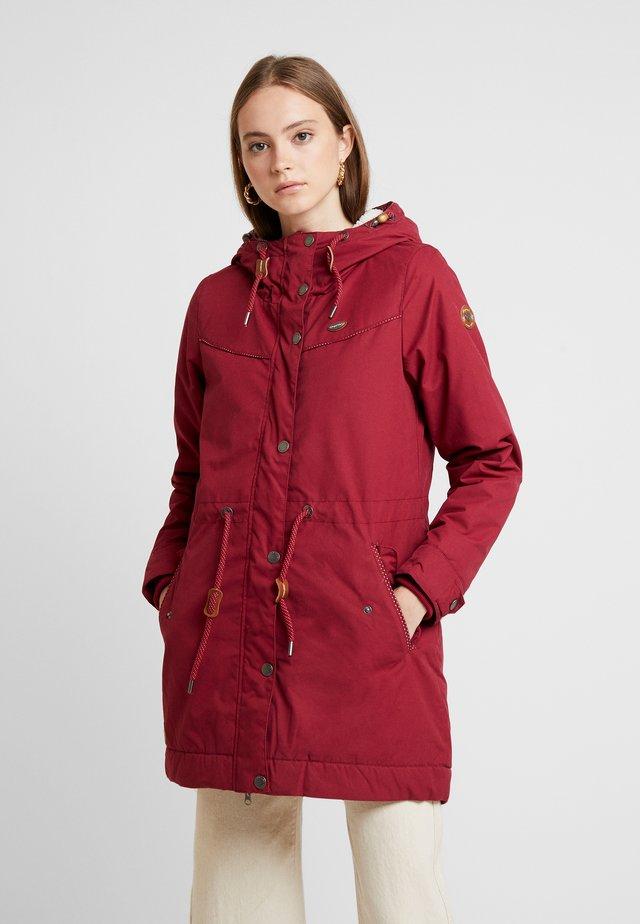 CANNY - Zimní kabát - wine red