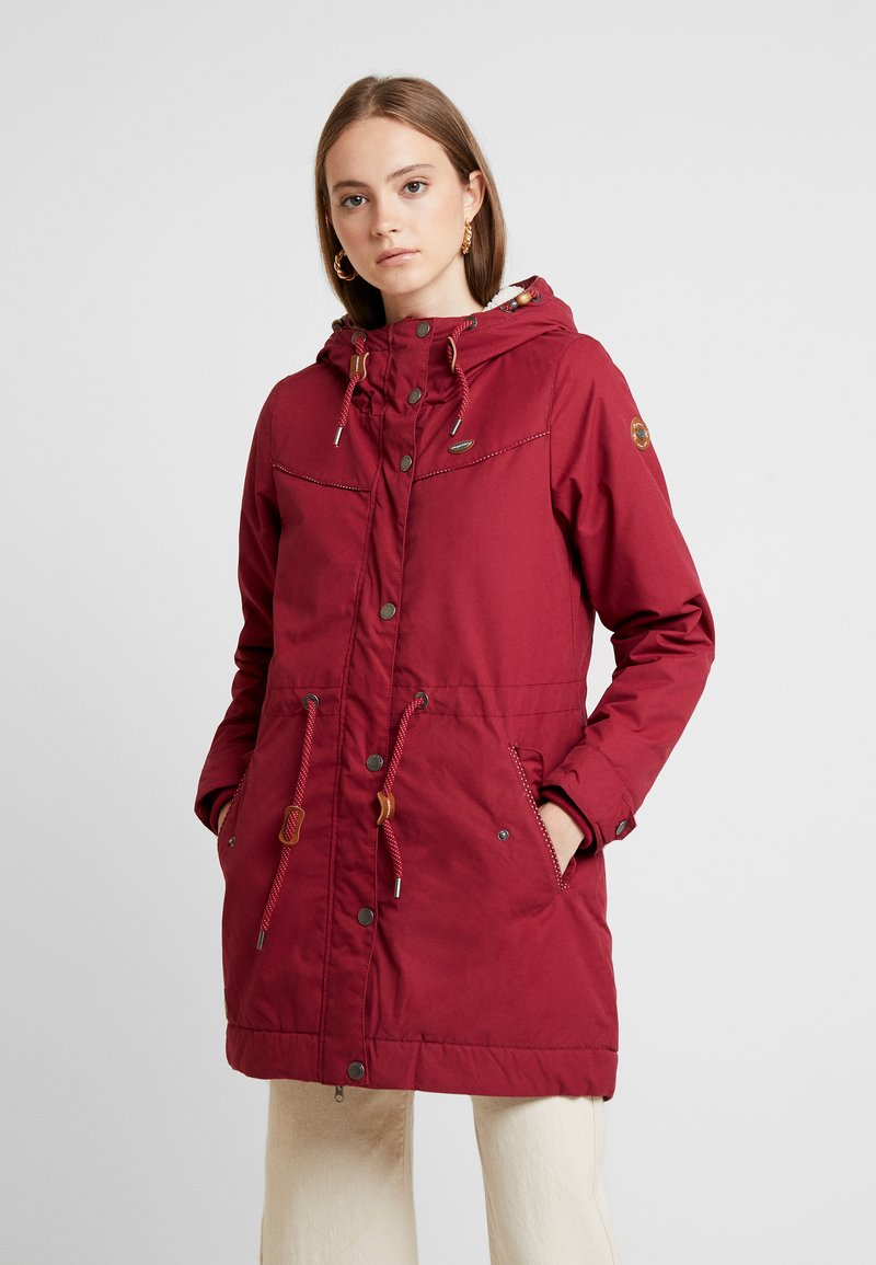 Ragwear - CANNY - Vinterkappa /-rock - wine red