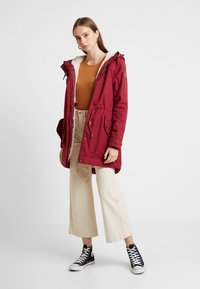Ragwear - CANNY - Winter coat - wine red - 1