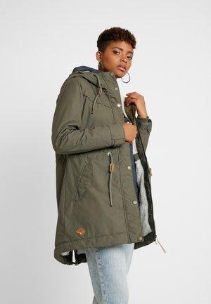 CANNY - Zimní kabát - olive