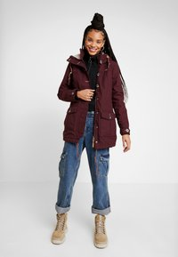 Ragwear - JANE - Parka - wine red - 1