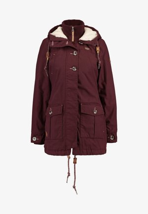 JANE - Parka - wine red