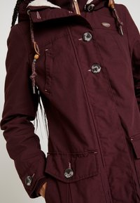 Ragwear - JANE - Parka - wine red - 5