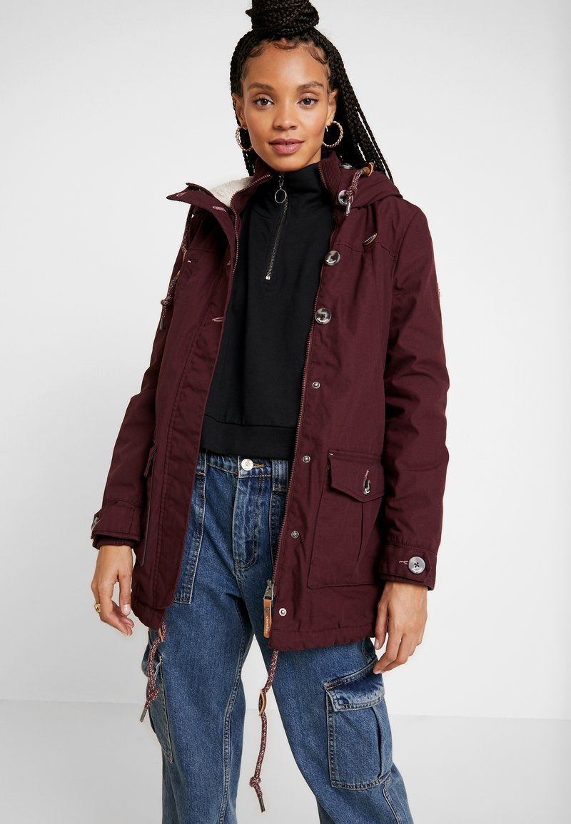 Ragwear - JANE - Parka - wine red