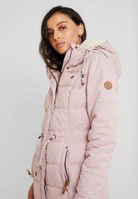 Ragwear - ASHANI PUFFY - Parka - old pink - 3