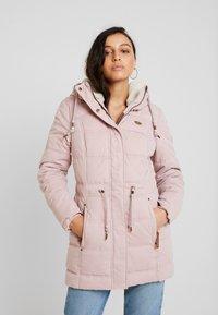 Ragwear - ASHANI PUFFY - Parka - old pink - 0