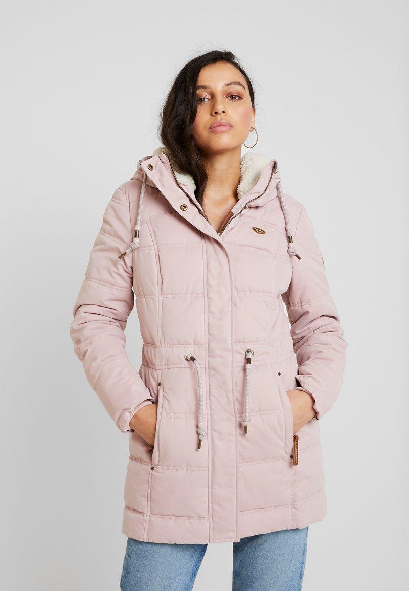 Ragwear - ASHANI PUFFY - Parka - old pink