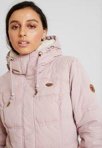 Ragwear - ASHANI PUFFY - Parka - old pink - 5