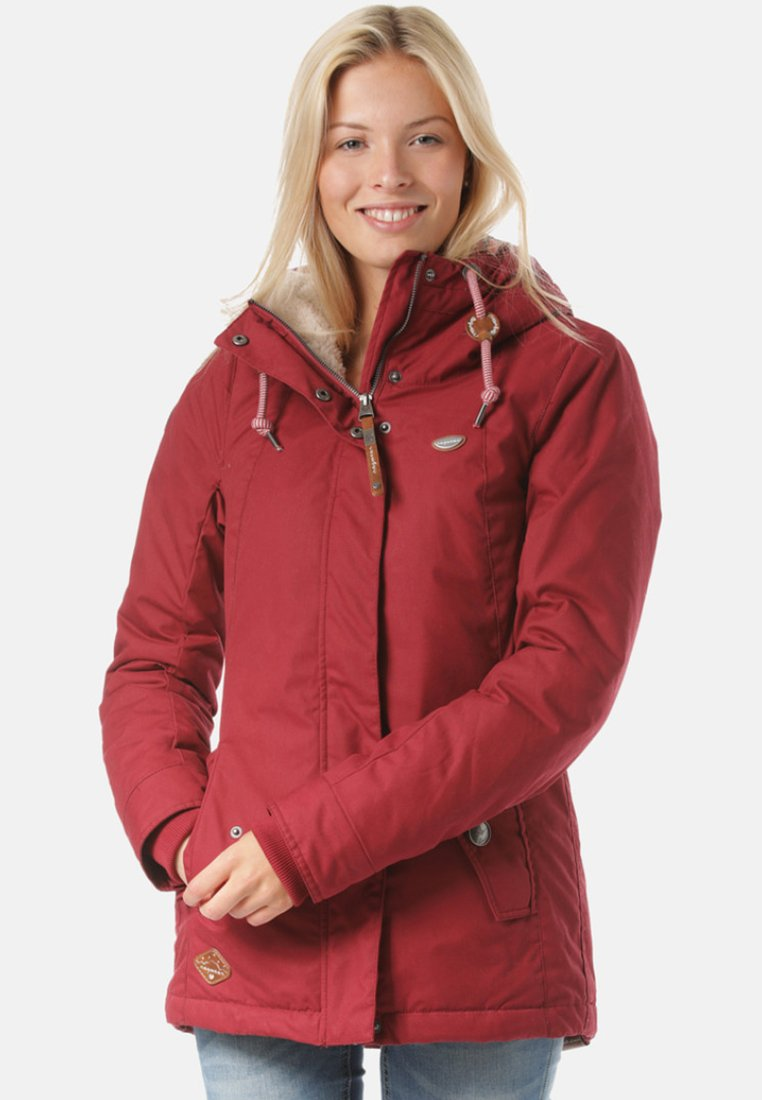 Ragwear - Wintermantel - red