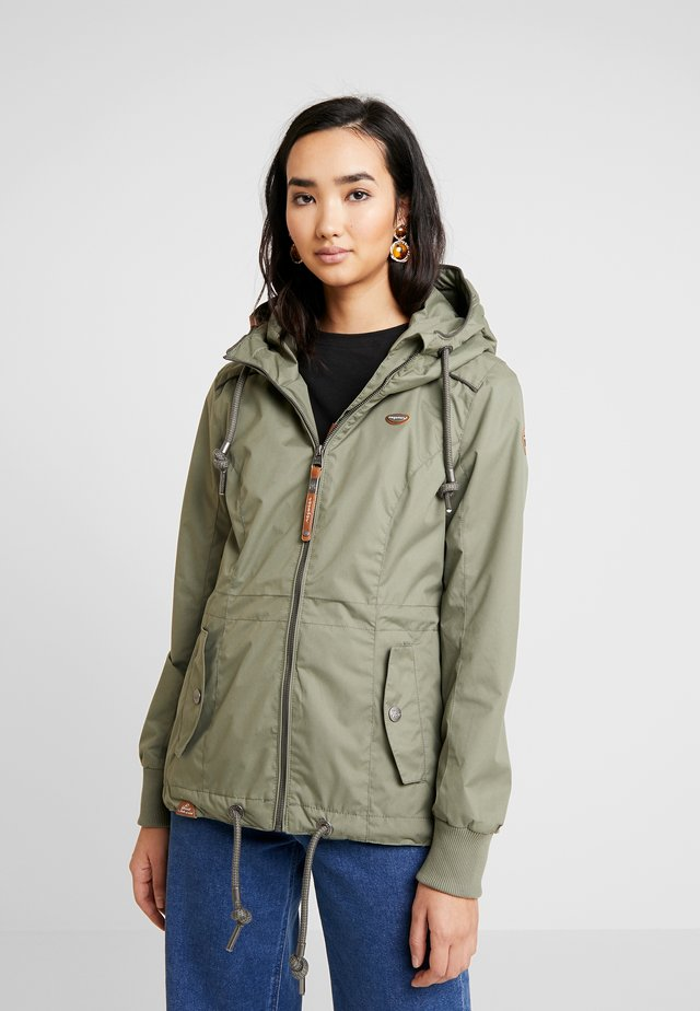 DANKA - Short coat - olive