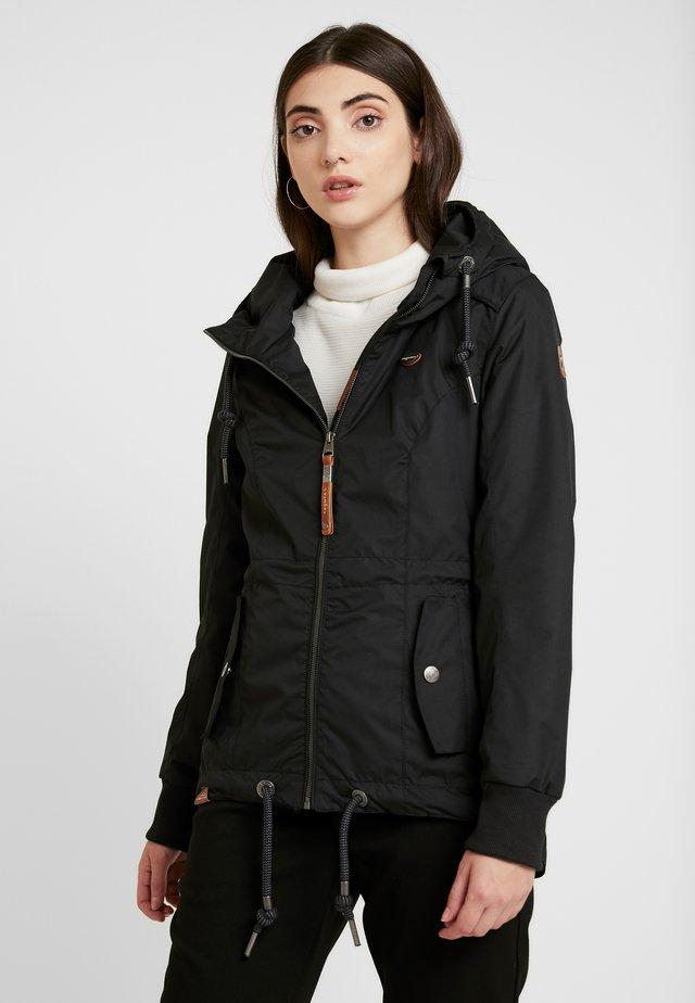 DANKA - Krátký kabát - black