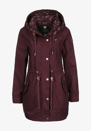 CANNY - Parka - wine red