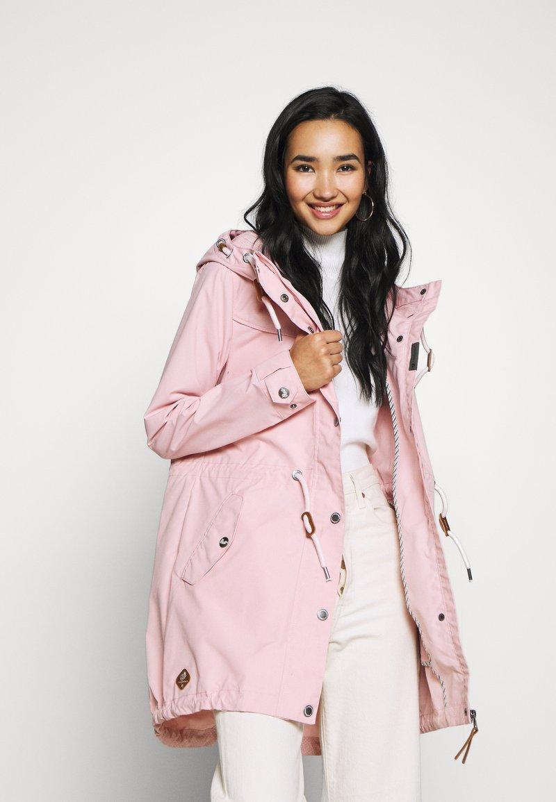 Ragwear - CANNY - Parka - light pink