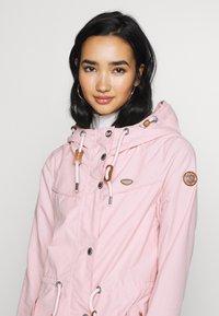 Ragwear - CANNY - Parka - light pink - 3