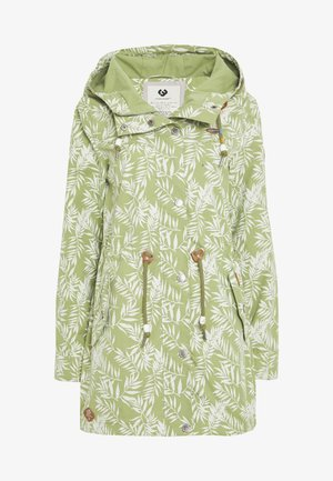CANNY LEAVES - Parka - light olive