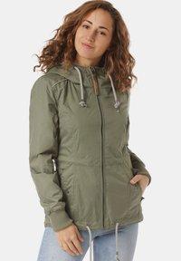 Ragwear - Waterproof jacket - green - 0
