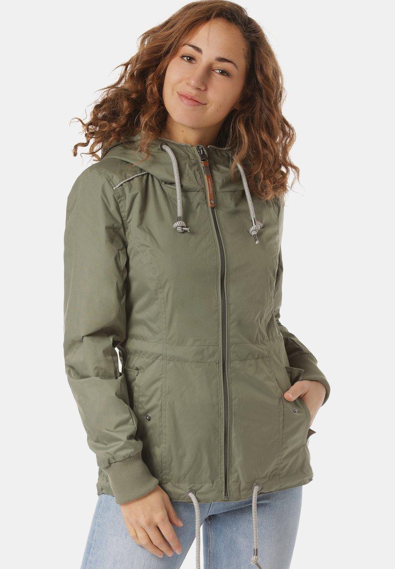 Ragwear - Waterproof jacket - green