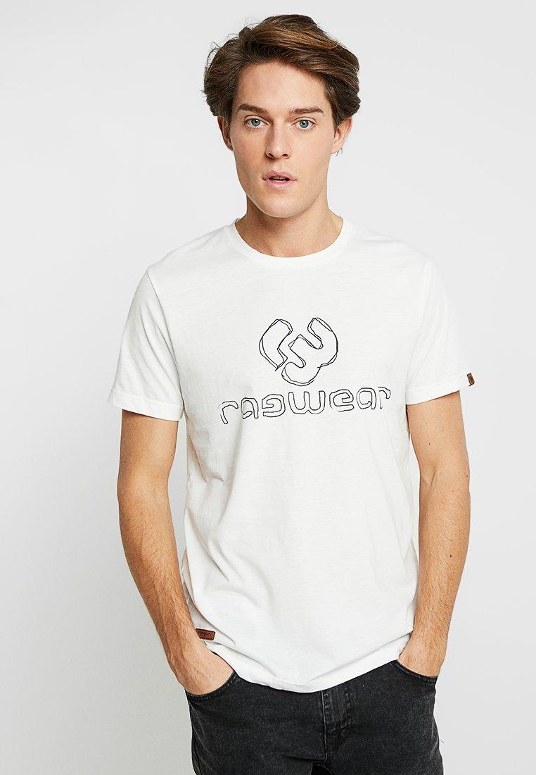 Ragwear - CHARLES - Camiseta estampada - white