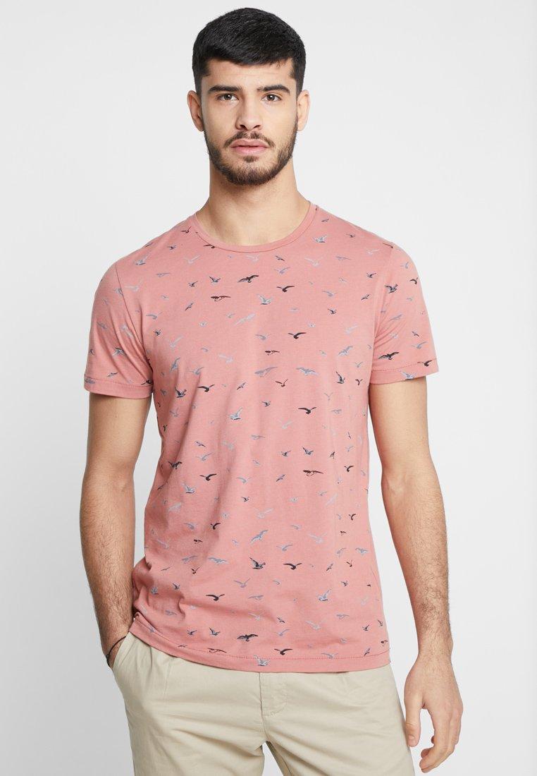 Ragwear - LUKA - T-shirt con stampa - dusty red