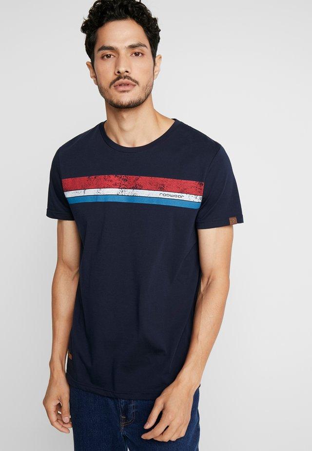 HAKE - T-shirt print - navy