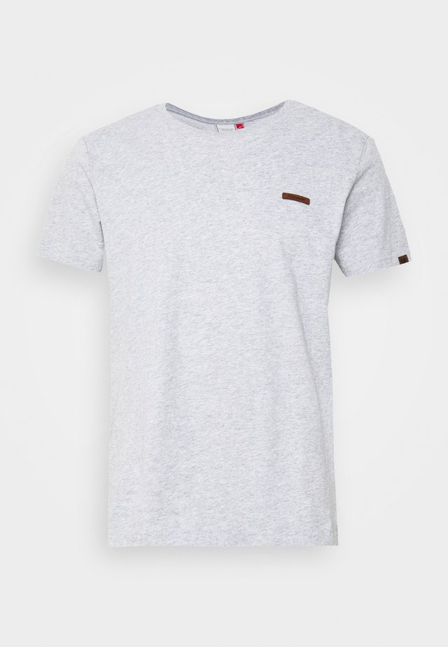 NEDIE - T-shirt basique - light grey