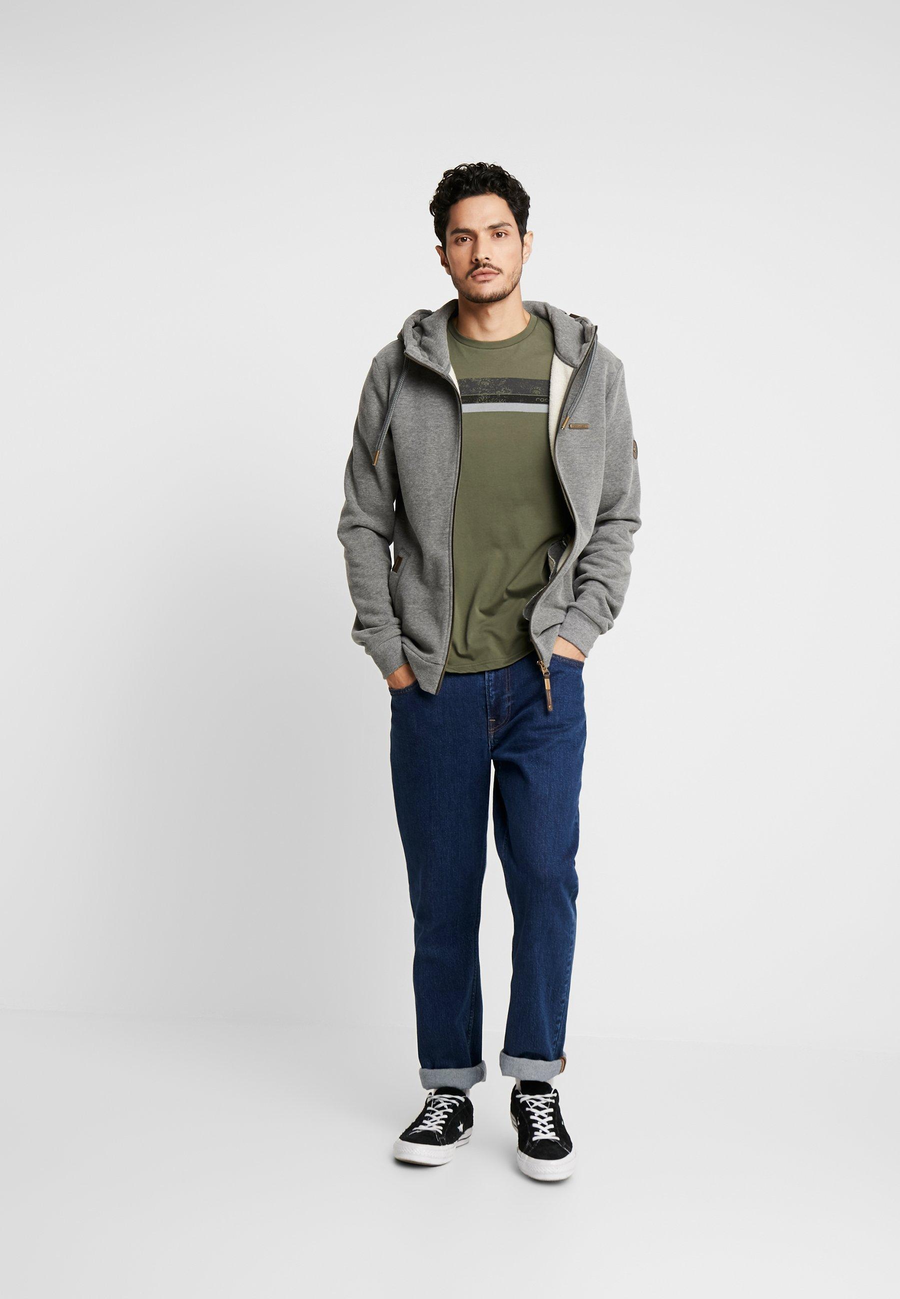 Ragwear NATE ZIP - Bluza rozpinana - grey
