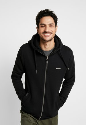 NATE ZIP - Sweatjacke - black