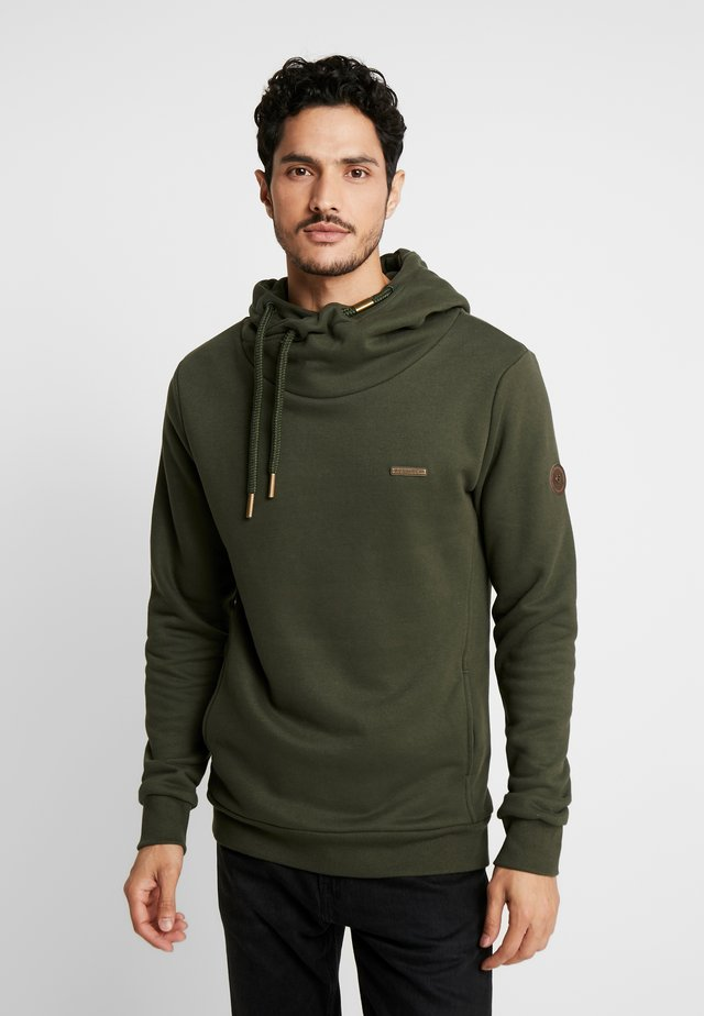 BEAT MENS - Jersey con capucha - olive