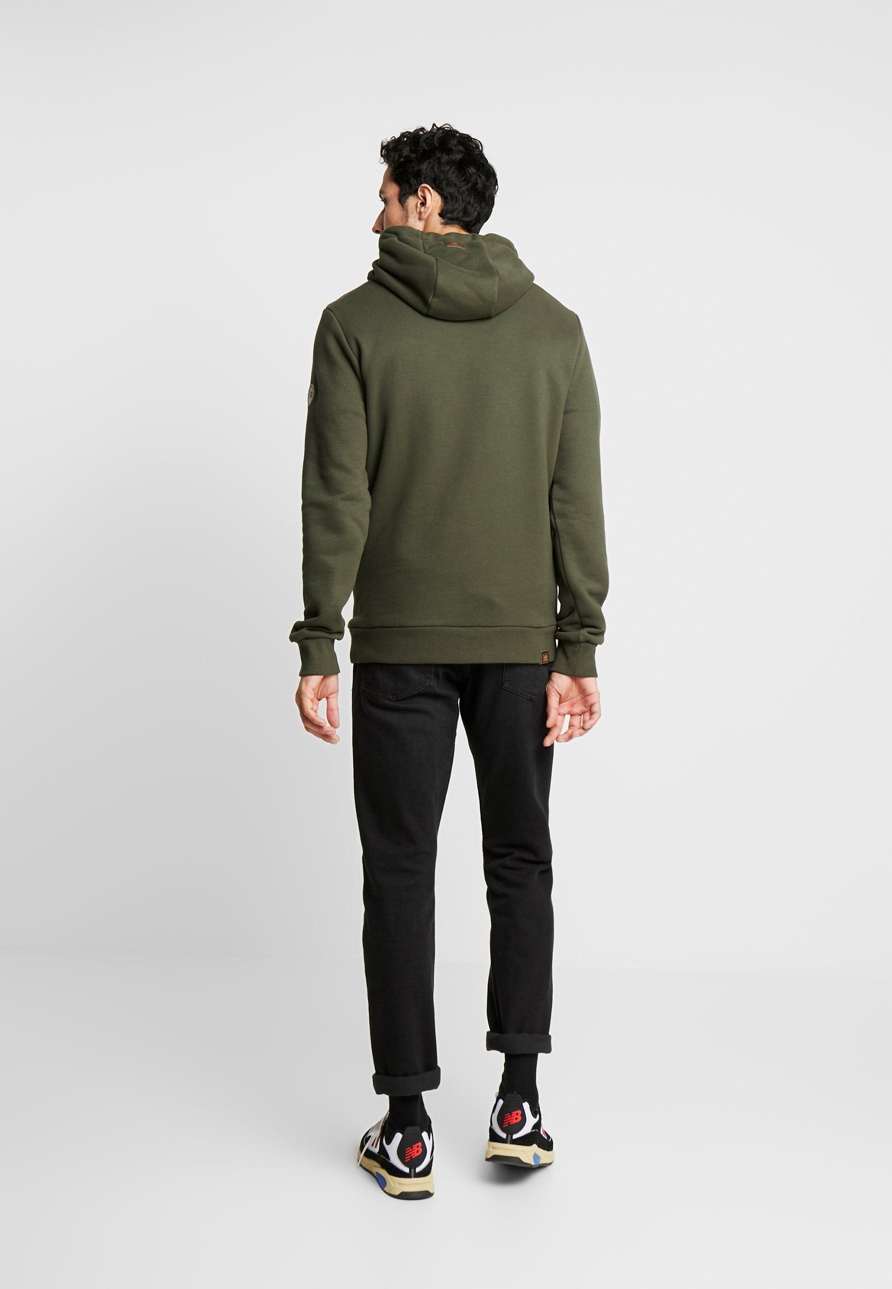 Ragwear BEAT MENS - Bluza z kapturem - olive