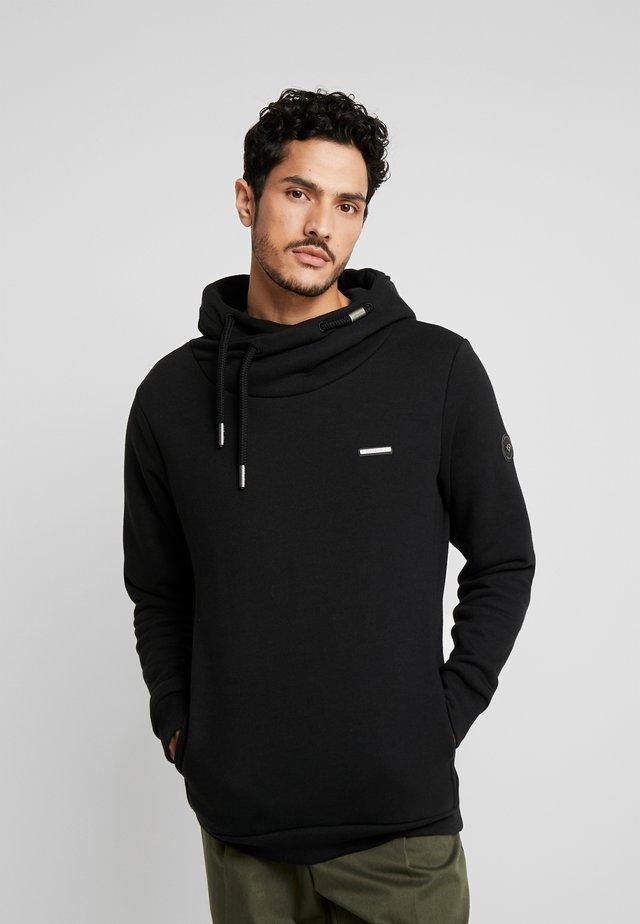 BEAT MENS - Jersey con capucha - black